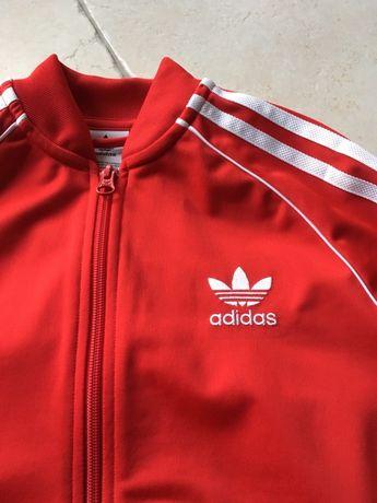 czerwona bluza adidas olx