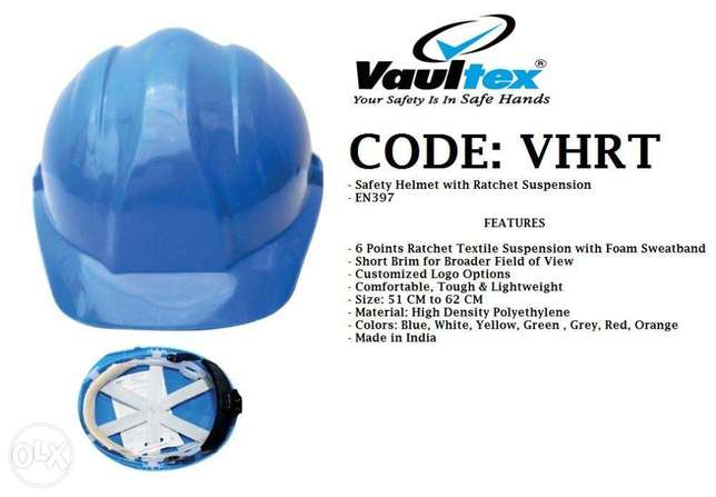 cODe:VhRt,SaFeTY HeLMEt With RaTCheT sUSpenSioN