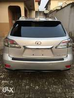 Very clean Lexus RX350, 2011 model Lagos cleared buy and drive.