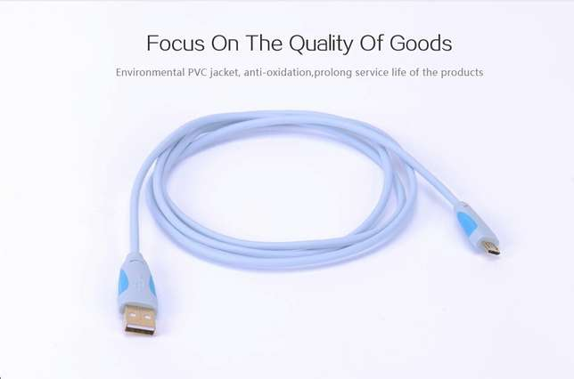 Premium Fast USB charging and High speed data cable 2.0 vention Gigiri - image 5