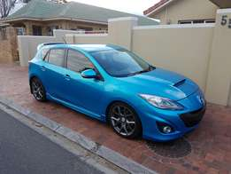 Mazda 3 MPS turbo charged