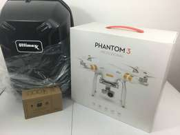 DJI Phantom 3 Professional Quadcopter essential bundle kit