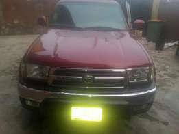 One year used toyota 4runner 2002 tincan cleared buy n drive
