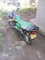 the cycle is in good condition dince i was using as private