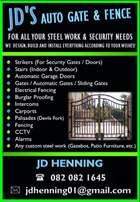 JD's Auto Gate & Fence