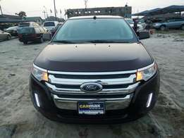 Direct belguim ford edge limited full option with original custom duty