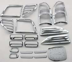 Land Cruiser Prado Chrome Kit