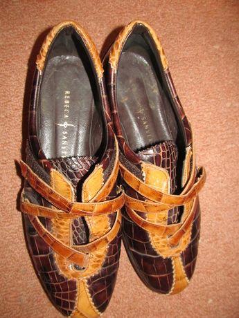 e259798b67721 piękne buty skórzane hiszpanskie damskie Rebeca Sanver r. 39 Opole - image 4