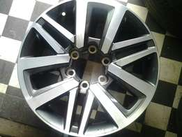17inches 6whole toyota meg rims