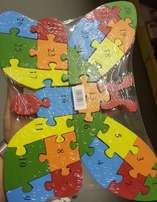 Educational wooden puzzles. 50 units!!!