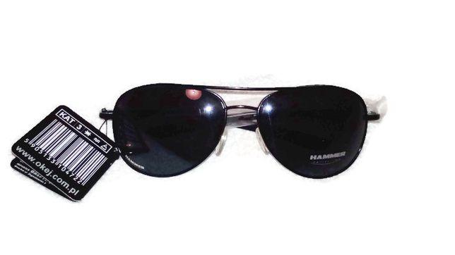 fe474a22a1 Okulary Przeciwsłoneczne HAMMER   Miękkie etui ze ściereczką GRATIS!    Siemiatycze - image