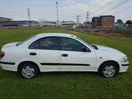 Nissan Almera automatic 2002 Accident free perfect driving conditions