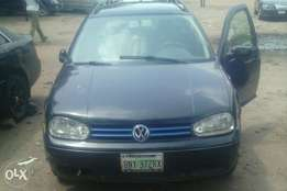 Very sharp golf 4 wagon with jetta 1.8 engine for sale