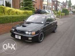 I am looking for Toyota starlet Mk3 turbo EP82