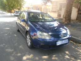 Excellent condition 2006 Blue VW Golf 5 2.0 TDI Full house for sale