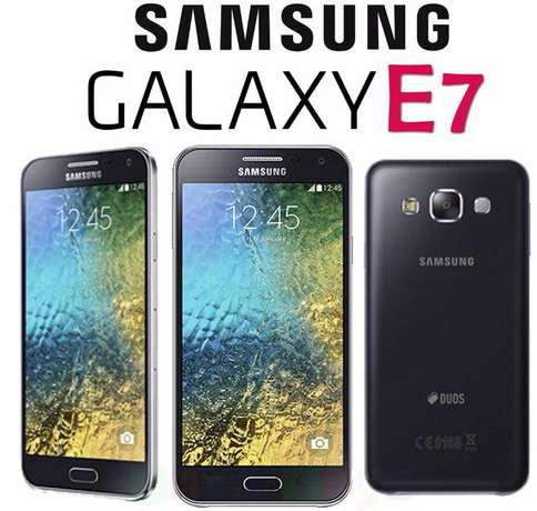 Sleek Samsung Galaxy E7 Duos Black 16 gb Storage For Sale Nairobi CBD - image 1
