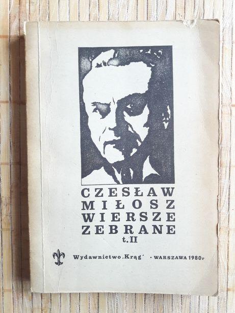 Czesław Miłosz Wiersze Poezja Tomiki Wierszy Warszawa