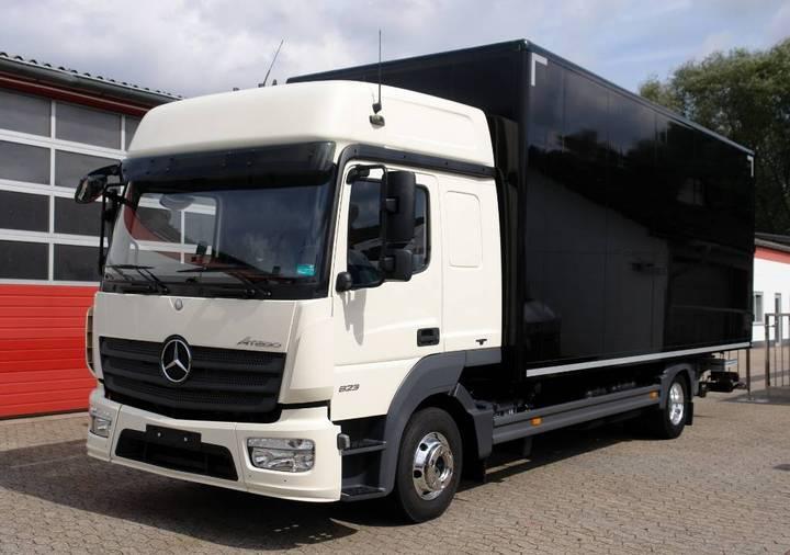 Mercedes-Benz Atego 823l Bigspace Koffer 6,40m Lbw Euro6 Tüv - 2014