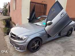PimpedOut Tokunbo Mercedes-Benz C300 08 upgraded C63