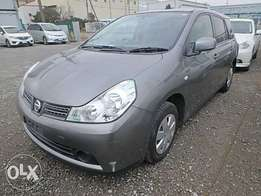 Nissan Wingroad Year 2010 Model Automatic 2WD Grey Color