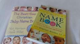Baby blankets and name books