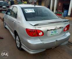 A super clean 2004 Toyota corolla Sport for sales
