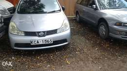 clean Nissan wingroad silver