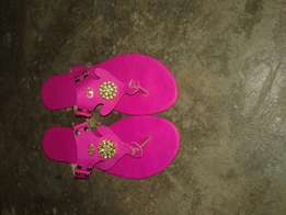 Female fashionable slippers