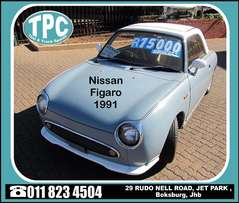 NISSAN FIGARO 1000CC -Turbo Charged- For Sale at TPC- Collectors