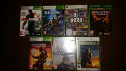 All 7 xbox 360 games for R350