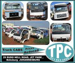 Used TRUCK CABS - Reduced Prices for sale at TPC- Isuzu,MAN,Nissan etc