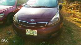 Kia rio 2013 neatly used