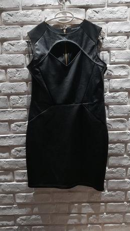 Czarna sukienka atmosphere 44 Biłgoraj • OLX.pl