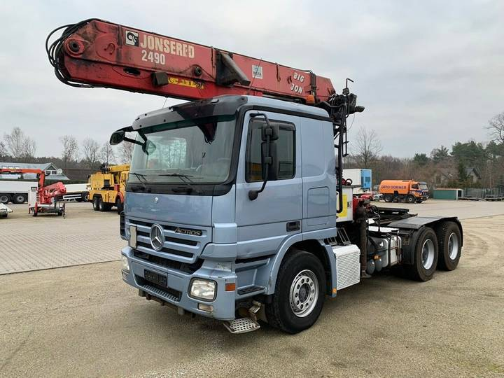 Mercedes-Benz Actros 2644 6x4  E5 Jonsered 2490 Top Zustand - 2007
