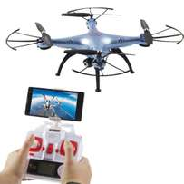Drones with fish eyes Surveillance cameras for your events