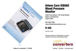 Intens Care IC80AE Blood Pressure Monitor