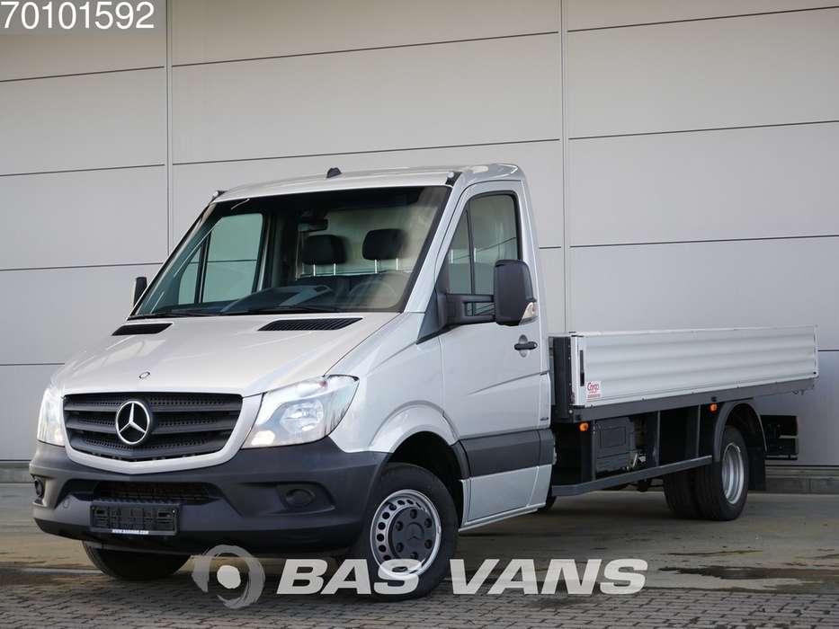 Mercedes-Benz Sprinter 516 CDI Open Laadbak Huif Automaat 19m3 Airco Tr... - 2016