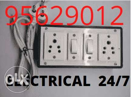 Best electrician and Plumber is open any time you can contact us when
