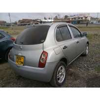 NISSAN Match REG NO kbv cc 1300 Yom 2006 original paint buy and drive.
