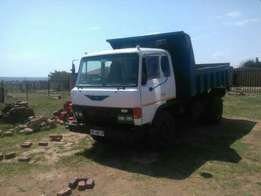 6 Cube Tipper Truck For Sale