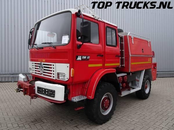 Renault 9.5M150 4x4 CCF 2000 feuerwehr - fire brigade - brandweer... - 1994
