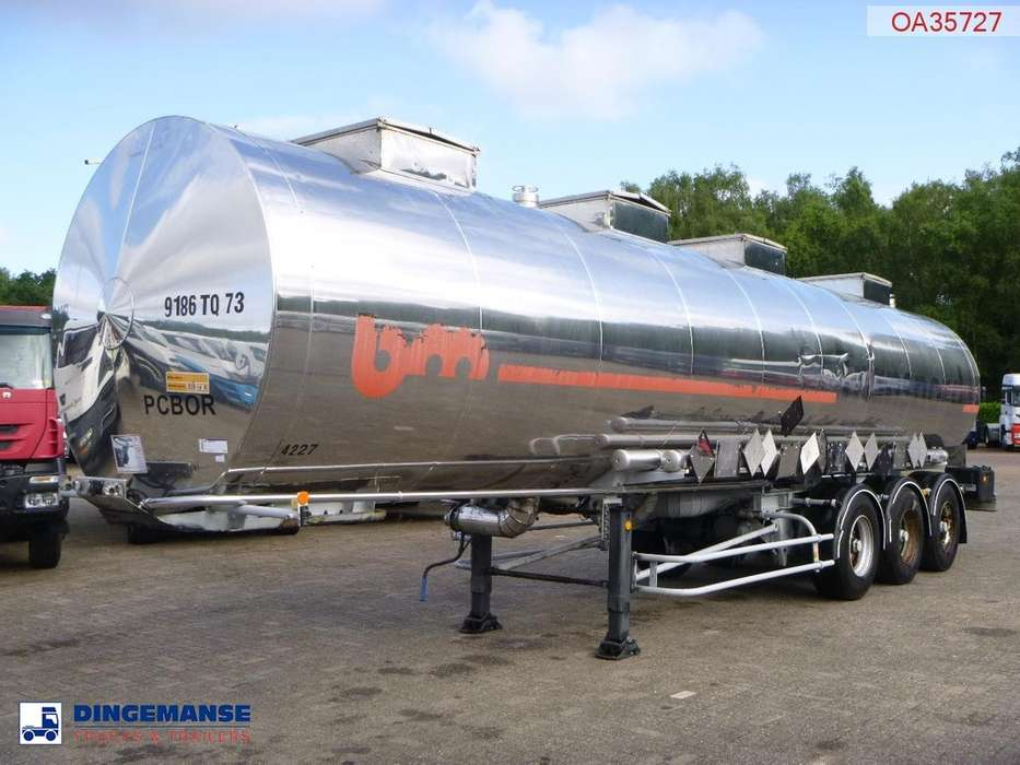 BSLT  Chemical tank inox 33.6 m3 / 4 comp - 1994