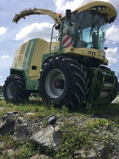 Krone big x 850 - 2013