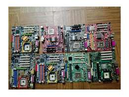 Motherboards for spares