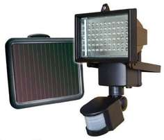 Solar LED Flood Security Garden Light with PIR Motion Sensor 60 LEDs