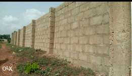 Cheap Fenced Land in Nilta quarters by unguwan Rimi on the main road