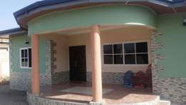 Executive 3 bedroom house with 2 bedroom BQ at east legon hills
