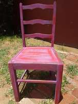Retro Chair painted J 2110