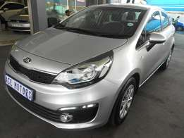 2016 Kia Rio 1.2 sedan For R 170000.