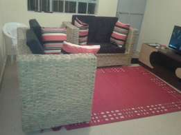 Makuti four seater couches two piece brand new